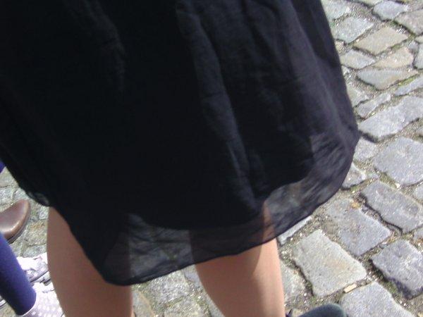 Rock und Beine
